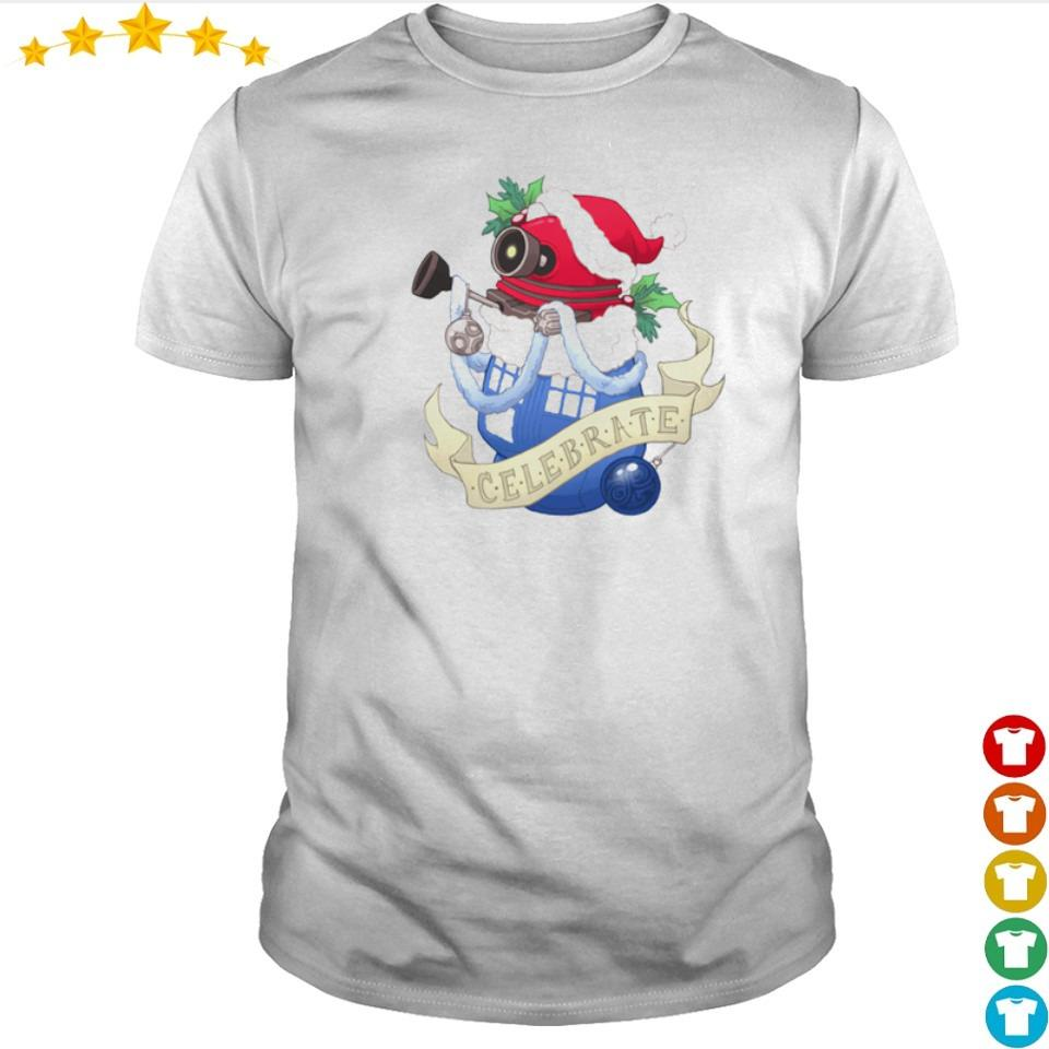 Christmas stocking stuffer Baby Dalek shirt