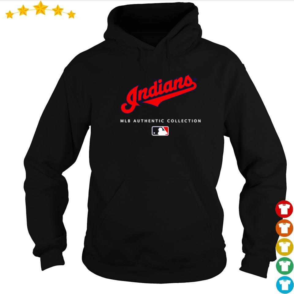 Cleveland Indians MLB authentic collection s hoodie