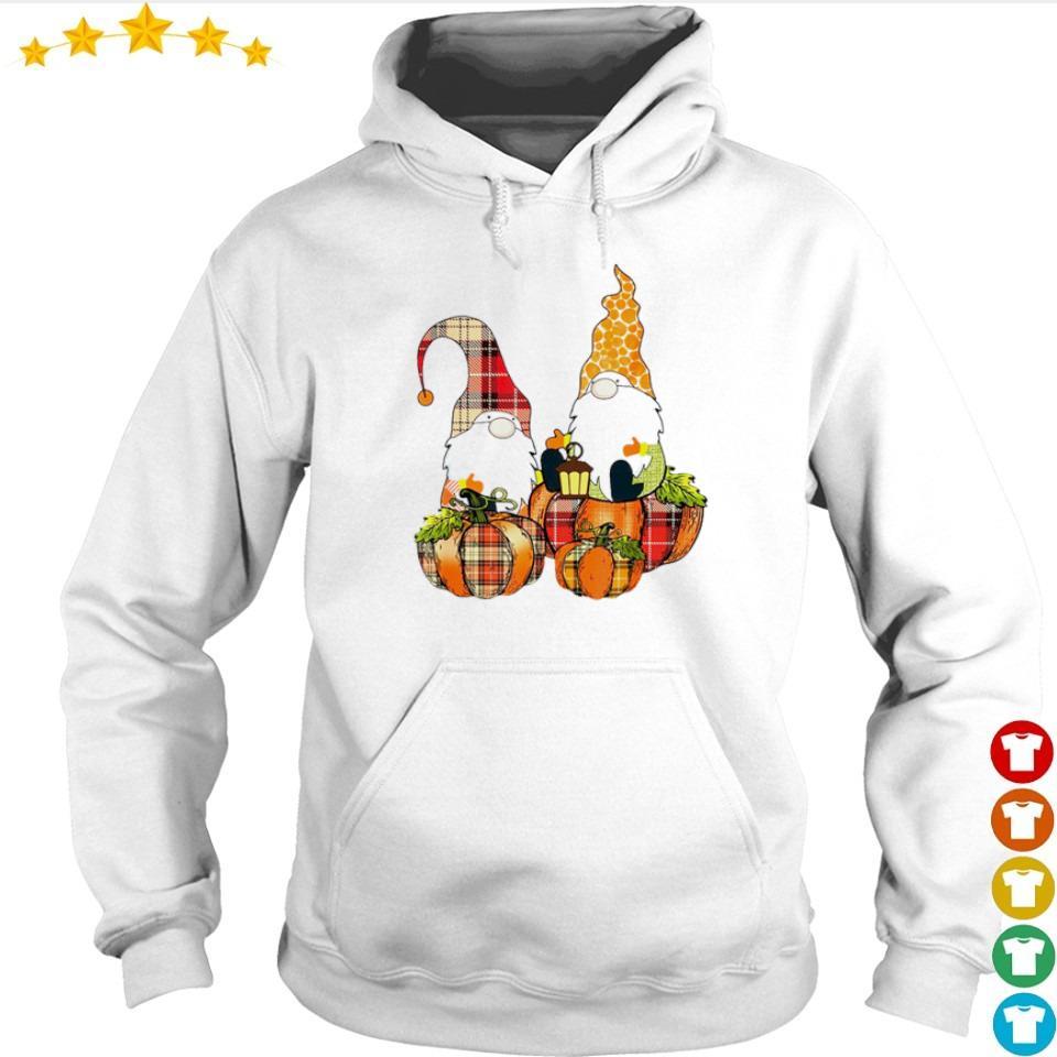 Cute Autumn pumpkin and Gnomes s hoodie