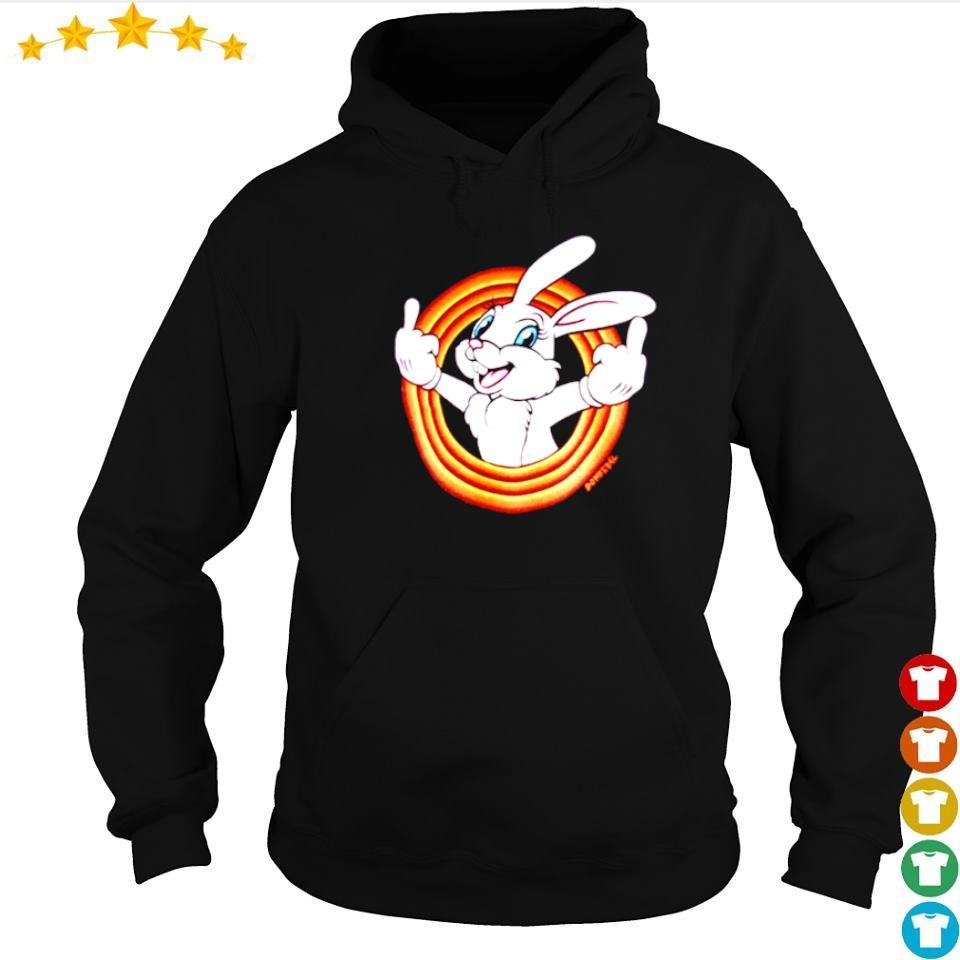 Cute domrebel white bunny humper s hoodie