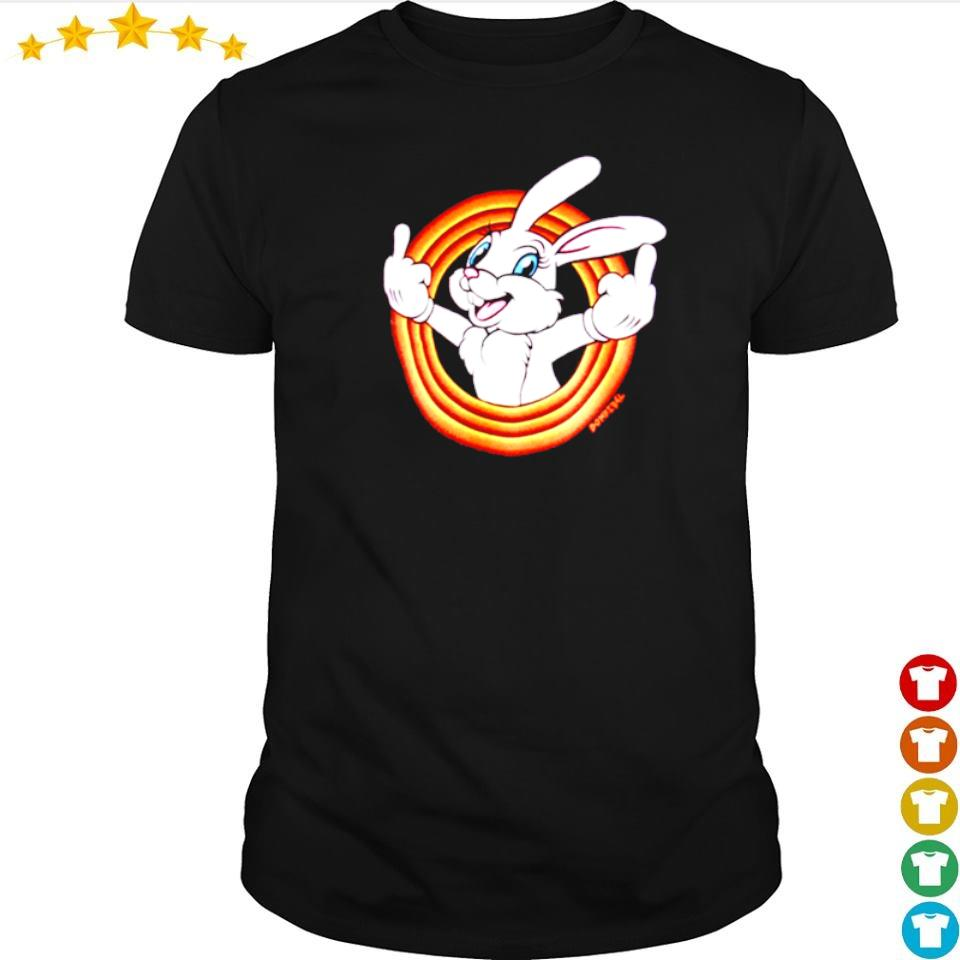 Cute domrebel white bunny humper shirt