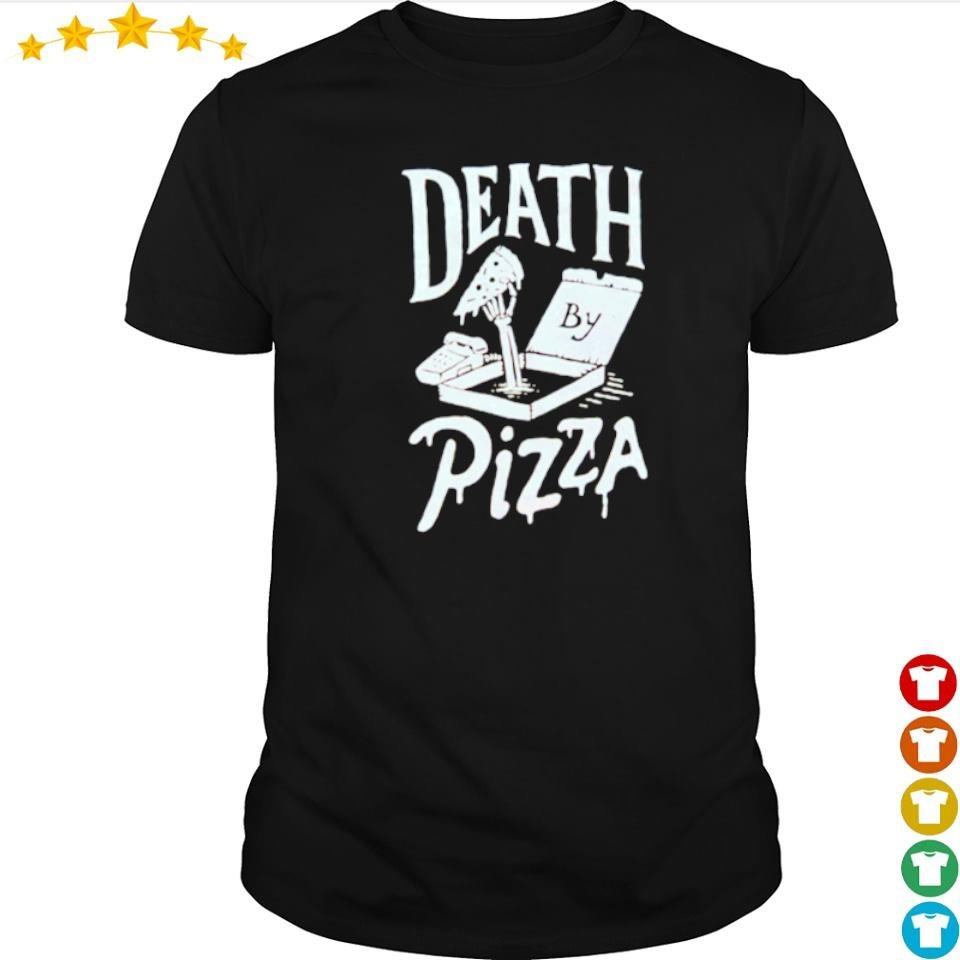 Death by pizza happy Halloween shirt