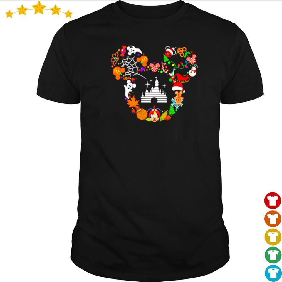 Disney Mickey Mouse happy Halloween shirt