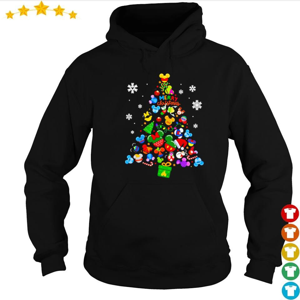 Disney Mickey Mouse merry Chirstmas tree s hoodie