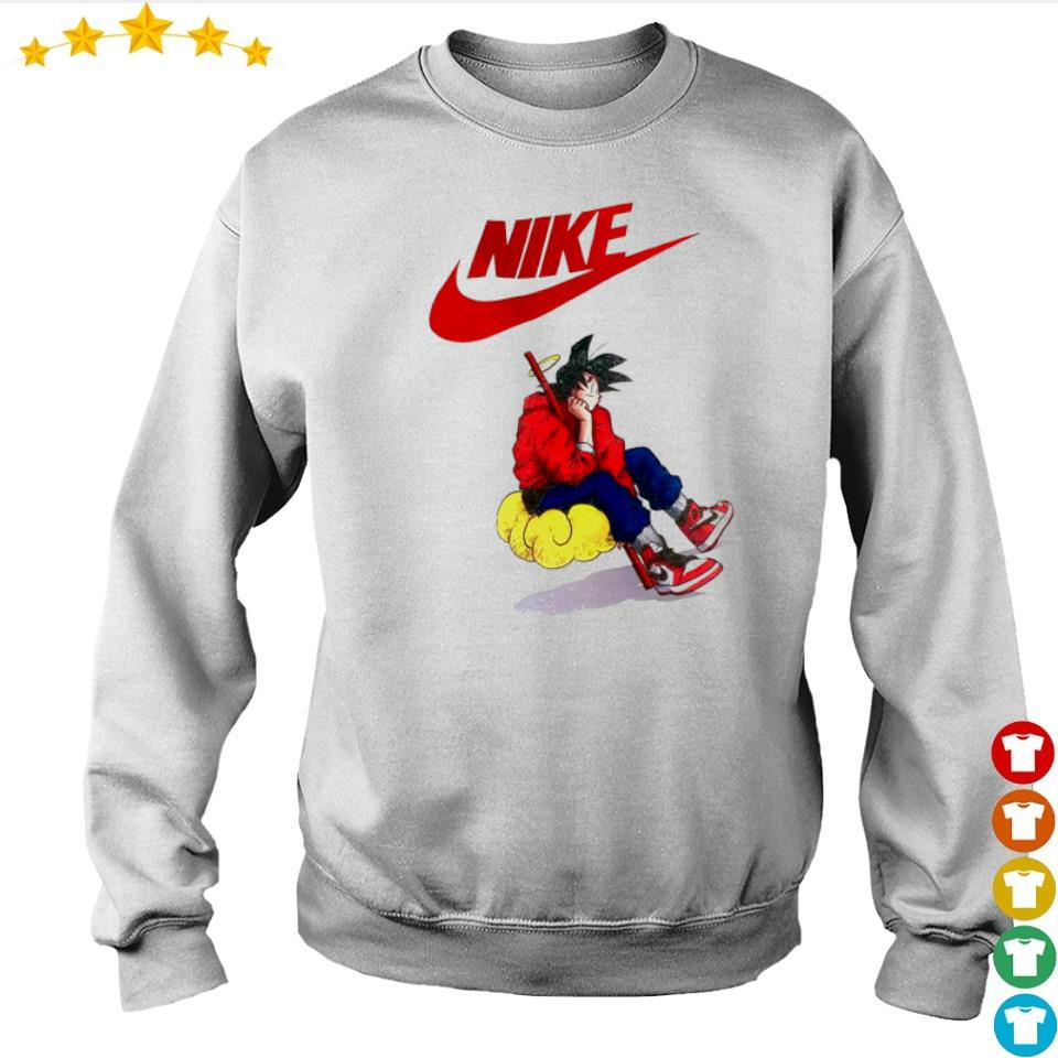 Dragon Ball Nike Goku s sweater