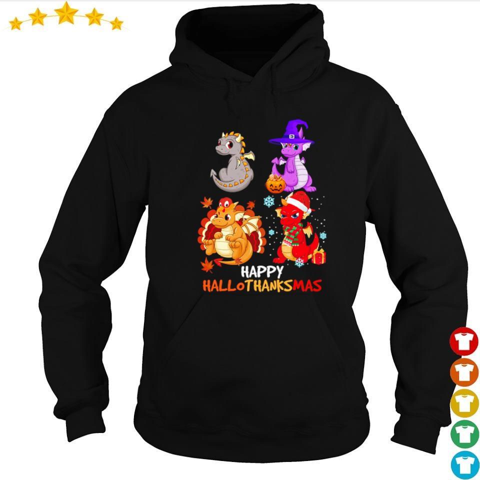 Dragon costume happy Hallothanksmas s hoodie