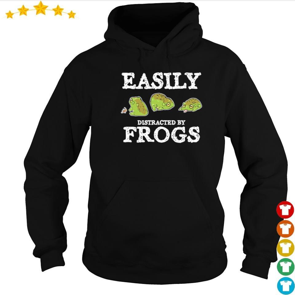 Easily distracted by frogs s hoodie
