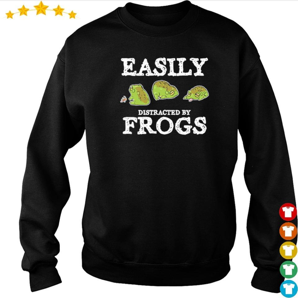 Easily distracted by frogs s sweater