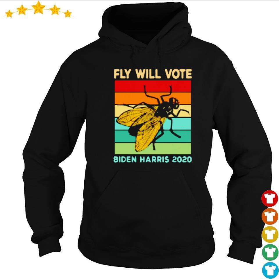 Fly will vote Biden Harris 2020 vintage s hoodie