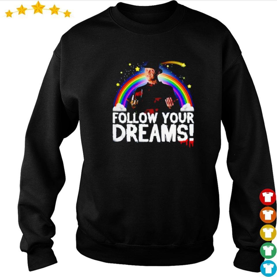 Freddy Krueger follow yours rainbow dreams s sweater