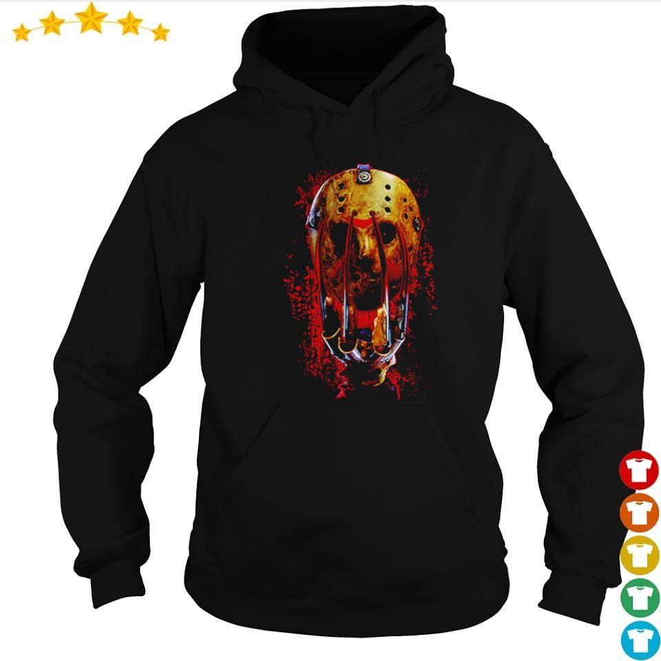 Glove and mask Freddy vs Jason s hoodie