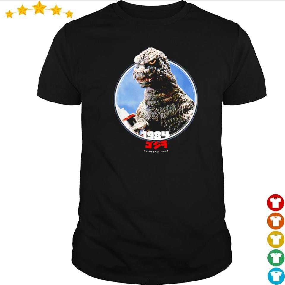 Godzilla 1984 the return of icons of Toho shirt