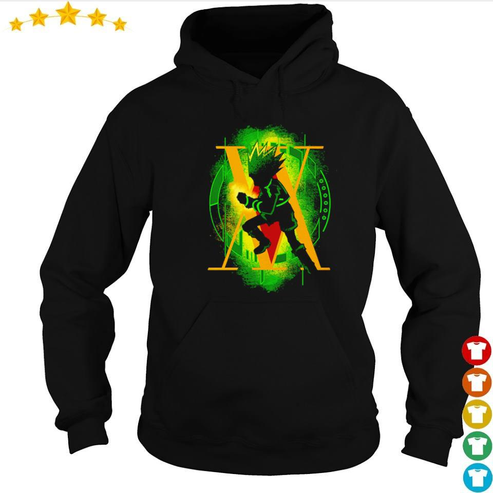 Gon freecss rockie hunter s hoodie