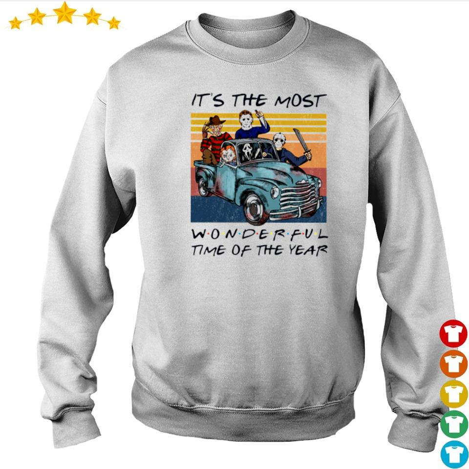 Horror character it's the most wonderful time of the year s sweater