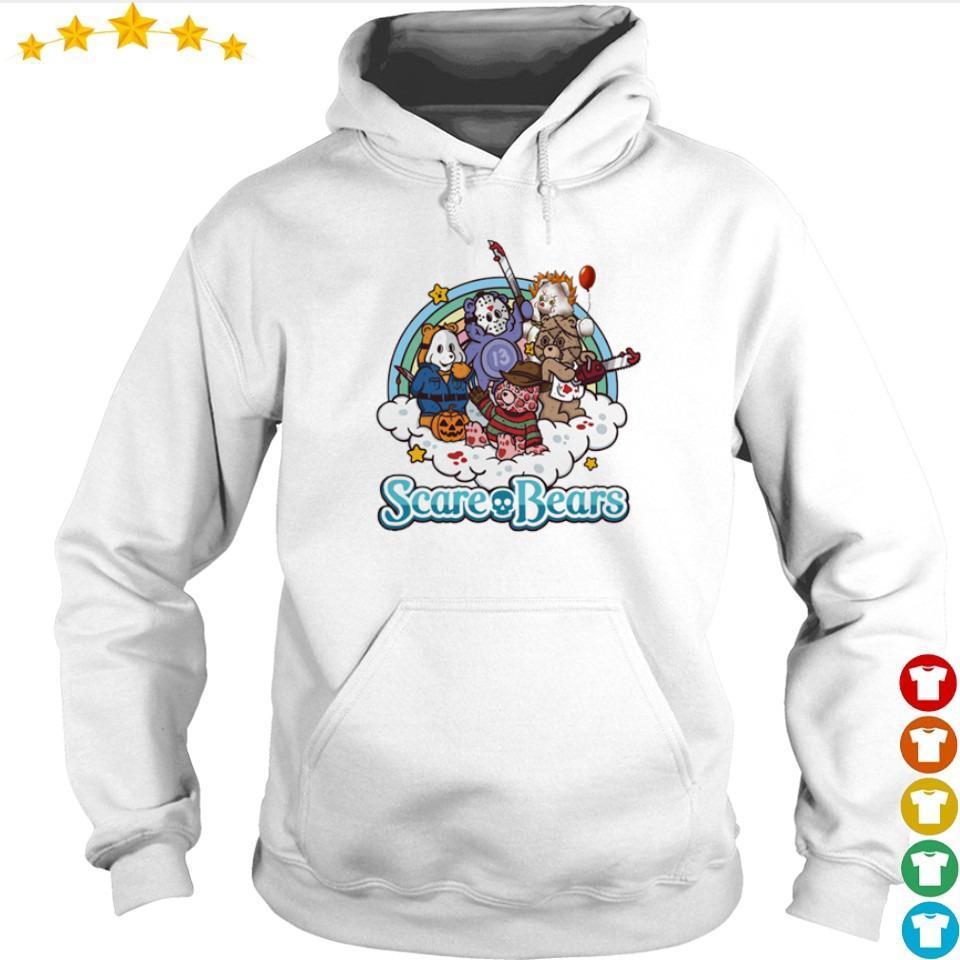 Horror characters scare bears s hoodie
