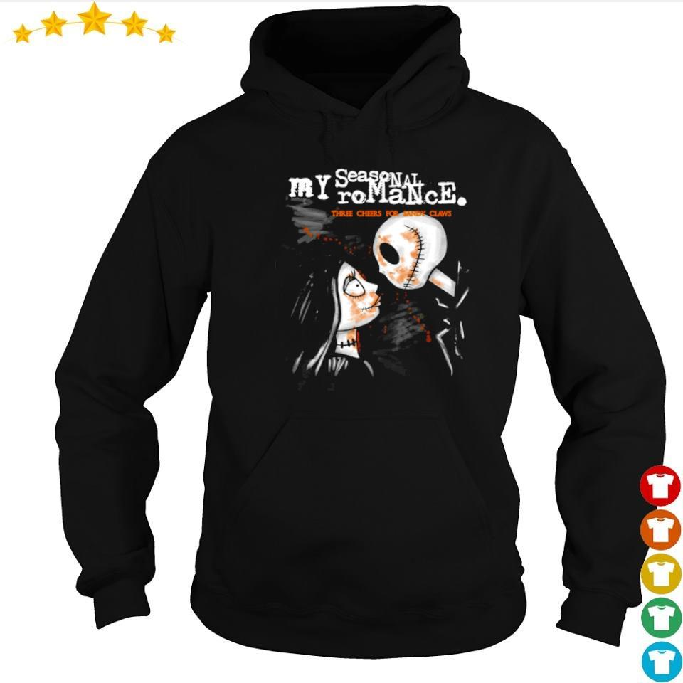 Jack Skellington and Sally my seasonal romance s hoodie