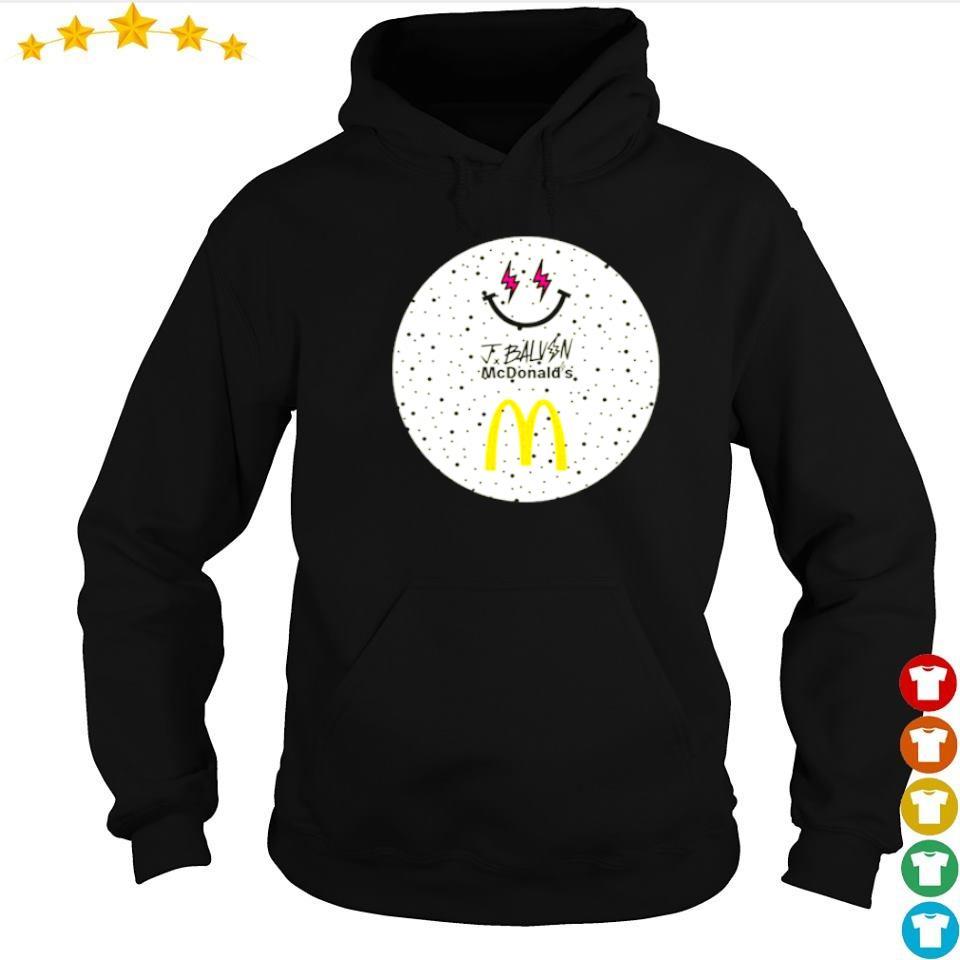 Jbalvin JBalvin x McDonald's ice cream s hoodie