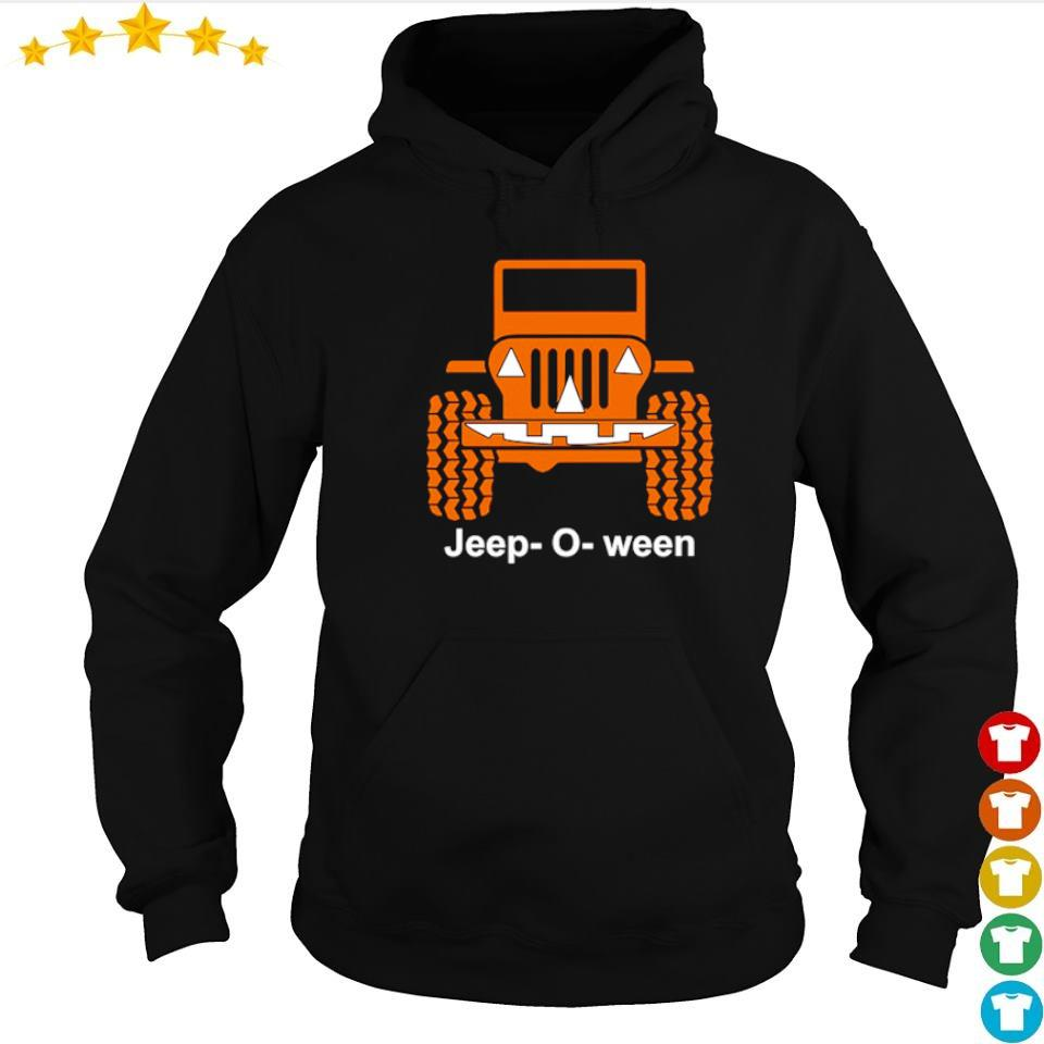Jeep o ween pumpkin happy Halloween s hoodie