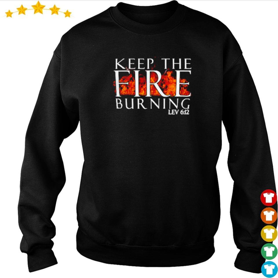 Keep the fire burning lev 612 s sweater