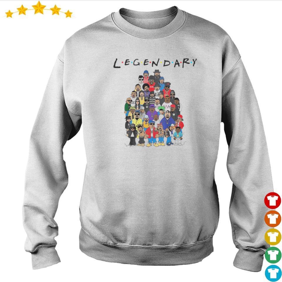 King of hip hop legendary Friends TV Show s sweater