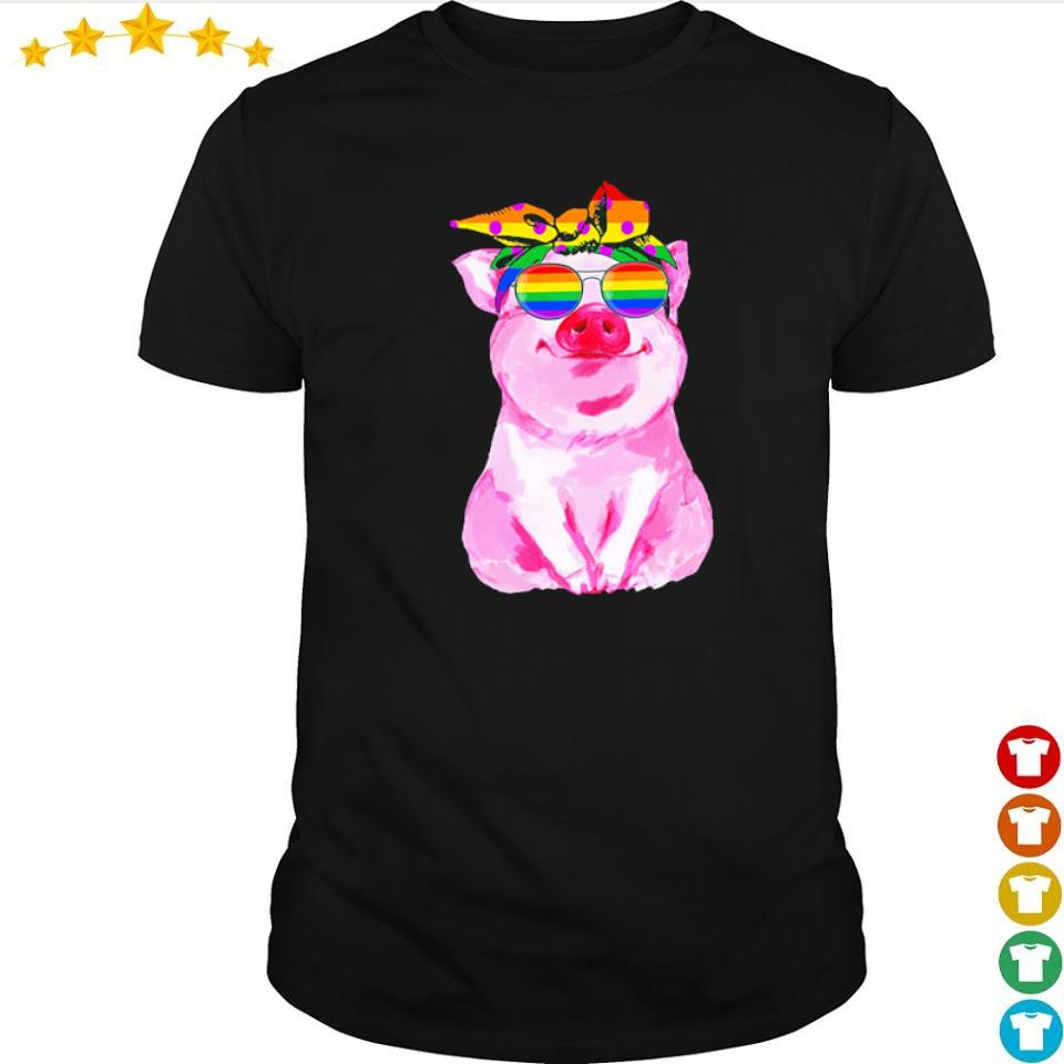 LGBT pig love is love shirt