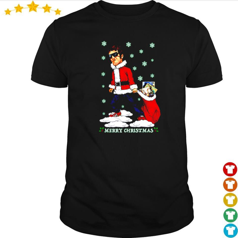 Liam Gallagher jumper merry Christmas shirt