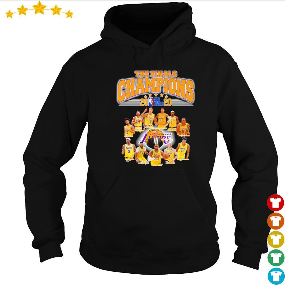 Los Angeles Lakers the finals champions 2020 s hoodie