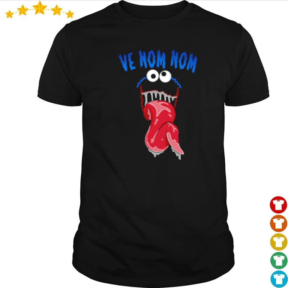 Marvel Venom ve nom nom shirt
