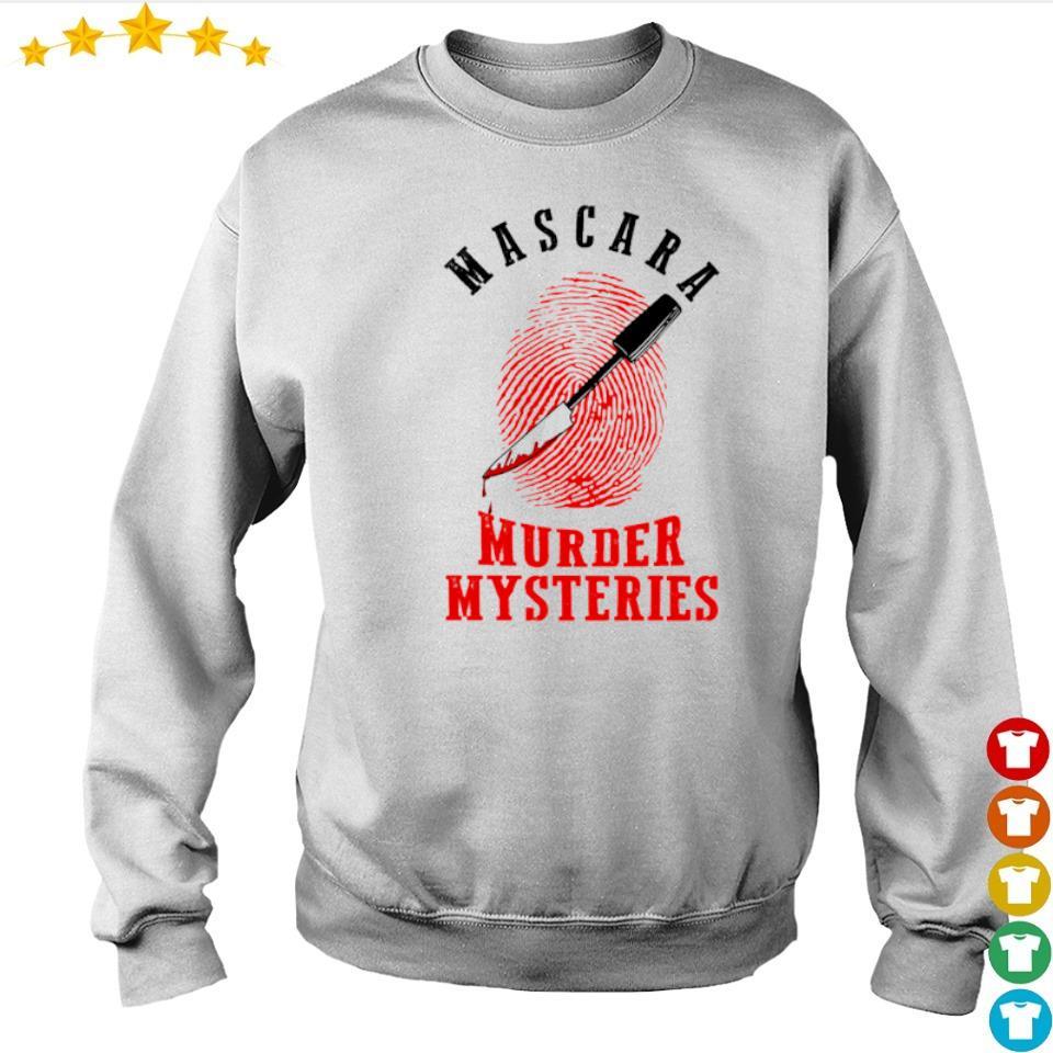 Mascara murder mysteries s sweater