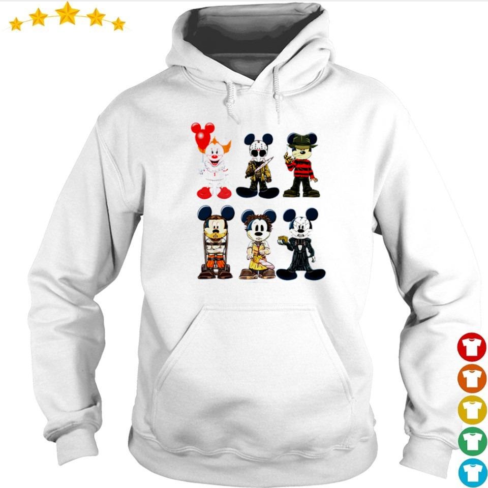 Mickey Mouse in horror characters costume s hoodie