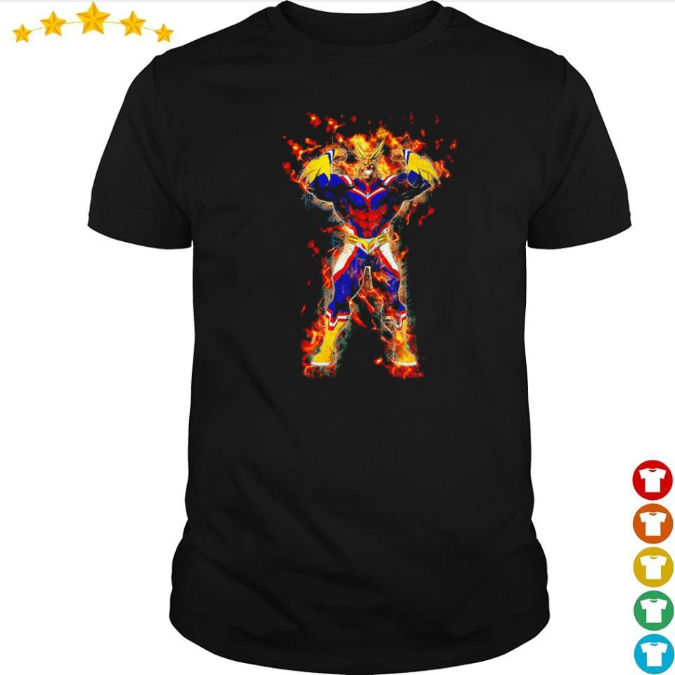 My Hero Academia Yagi Toshinori art shirt