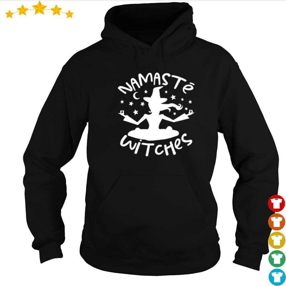 Namaste Witches happy Halloween s hoodie