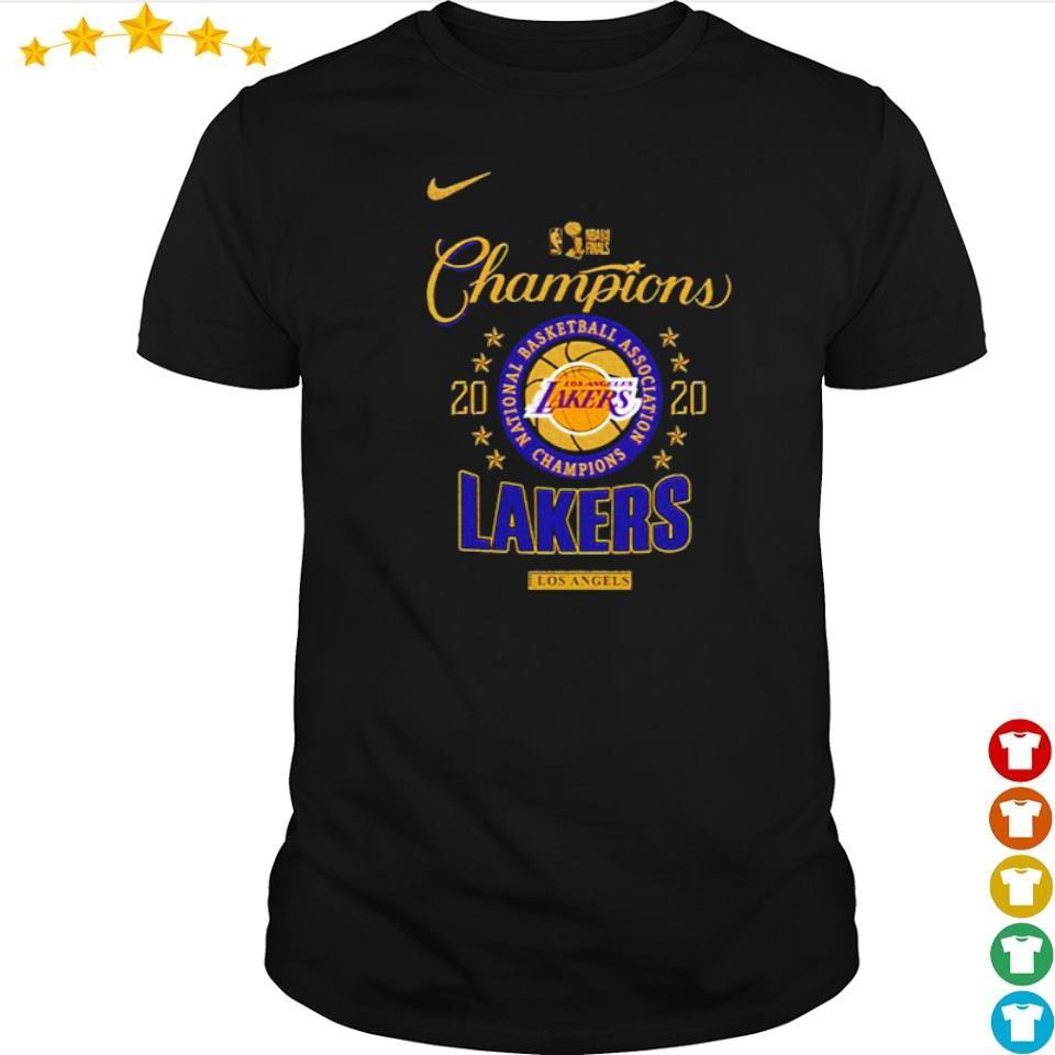 National Champion Los Angeles Lakers 2020 shirt