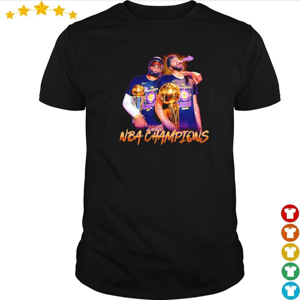 NBA Champion Los Angeles Lakers 2020 shirt