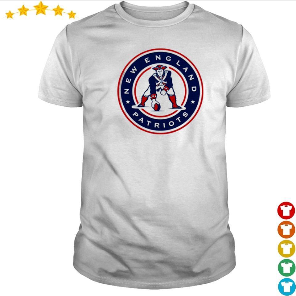 New England Patriots baseball throwback shirt