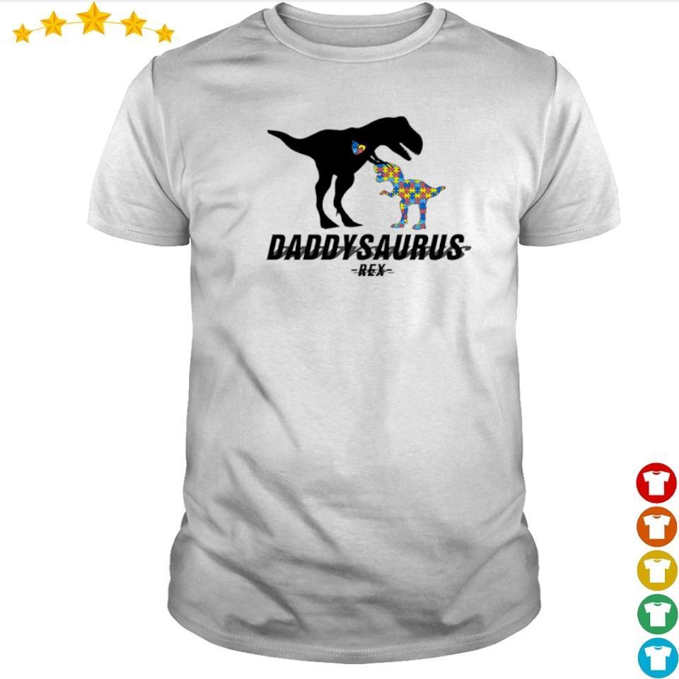 Official daddysaurus T Rex shirt