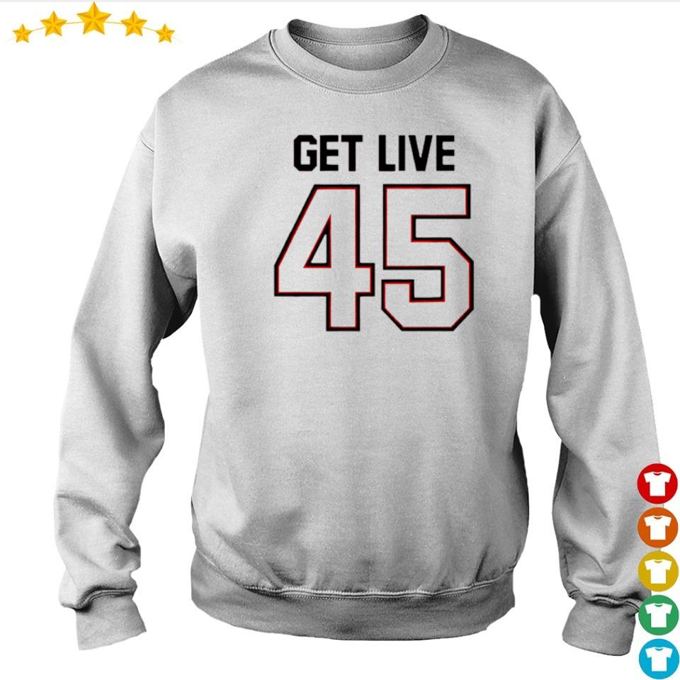 Official get live 45 s sweater