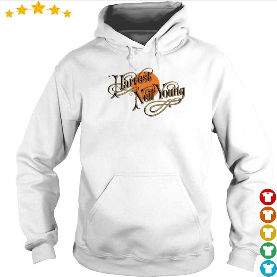 Official Harvest Neil Young s hoodie