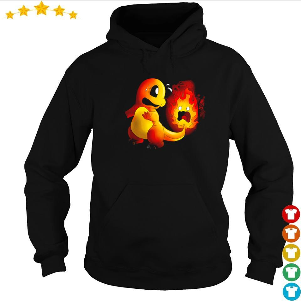 Official Hitokage and Calcifer tail s hoodie
