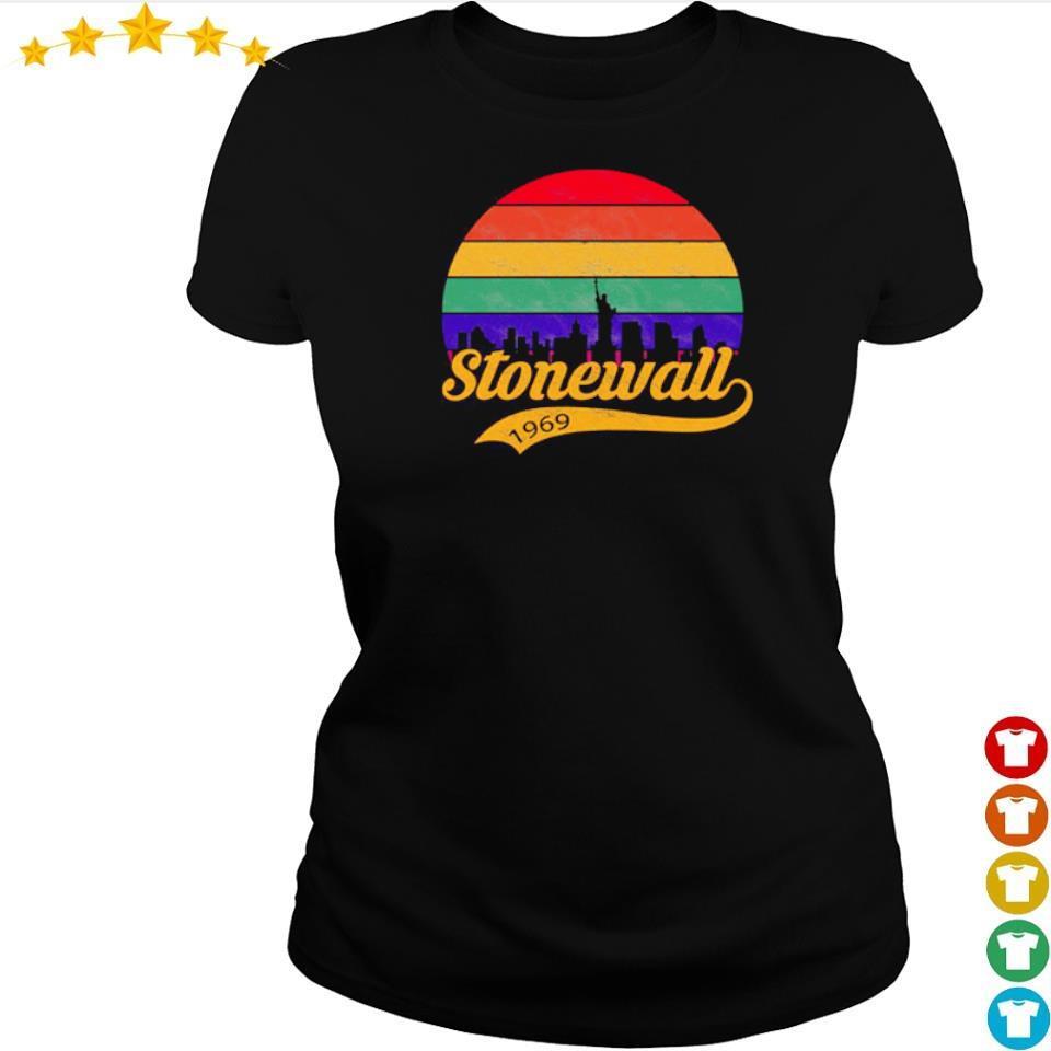 Official stonewall 1969 vintage s ladies tee