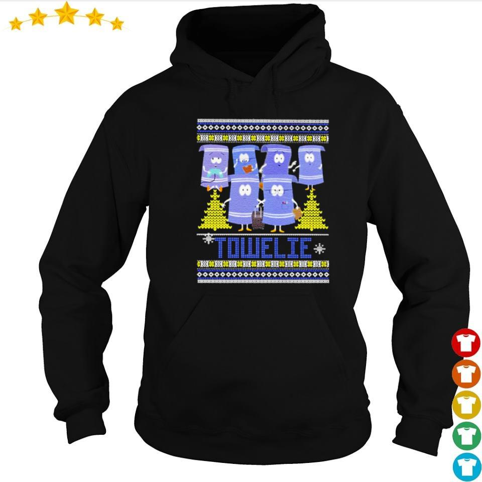Official towelie merry Christmas s hoodie