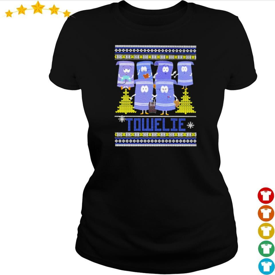 Official towelie merry Christmas s ladies tee