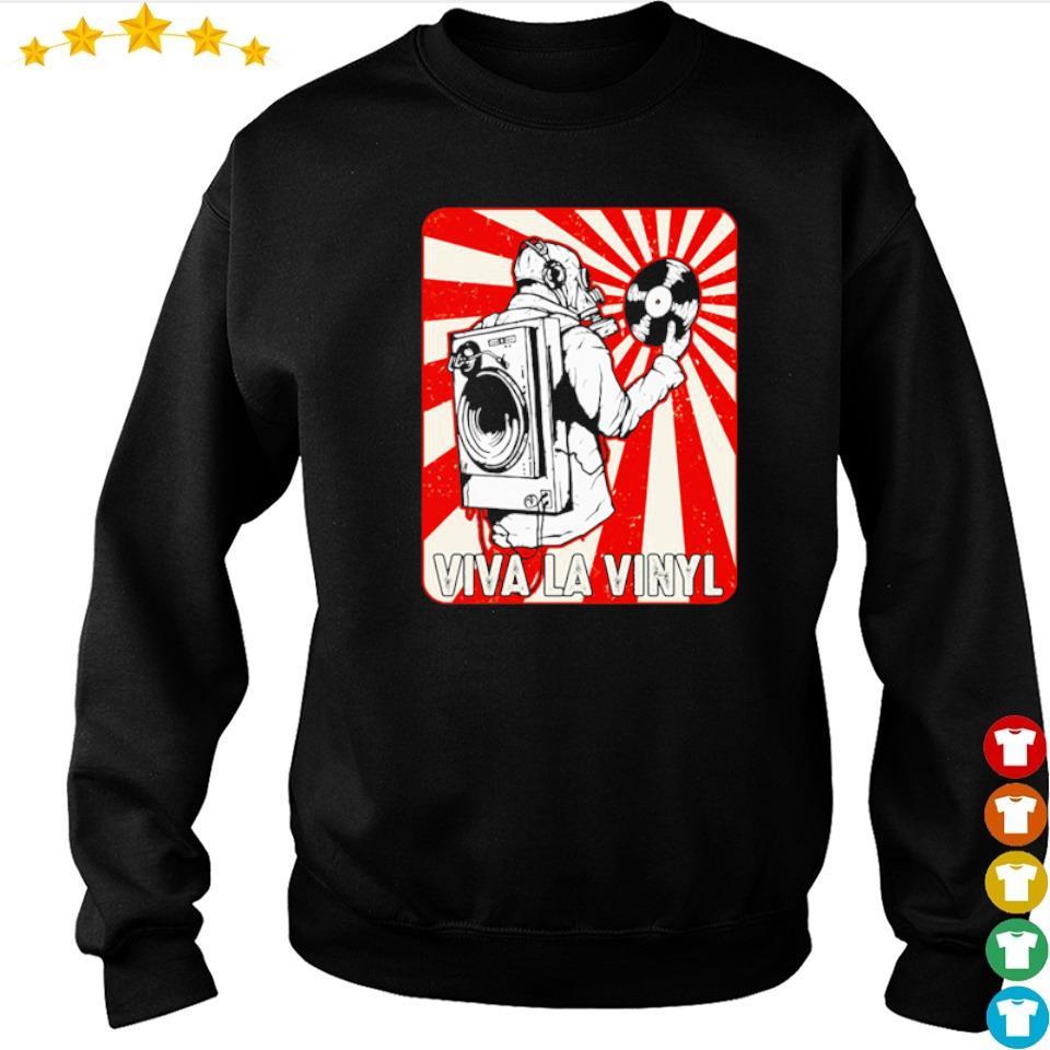 Official viva la vinyl retro s sweater
