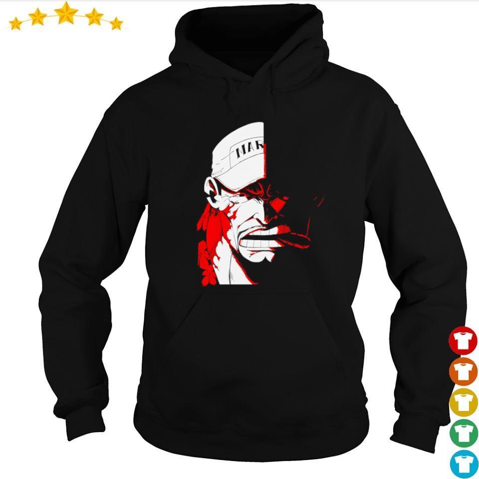 One Piece fleet admiral Akainu s hoodie