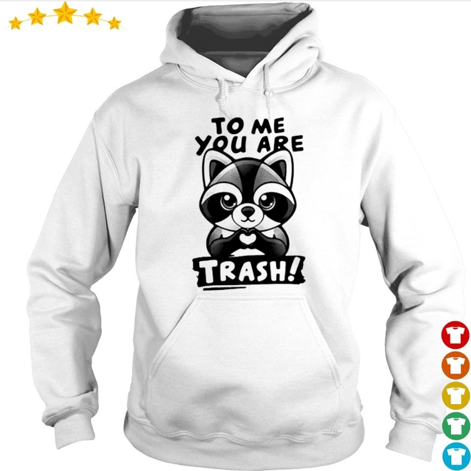 Raccoon to me you are trash s hoodie