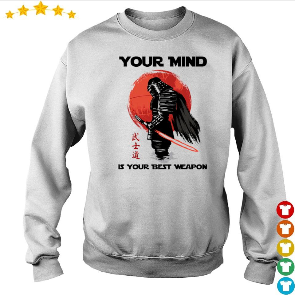 Samurai your mind is your best weapon s sweater