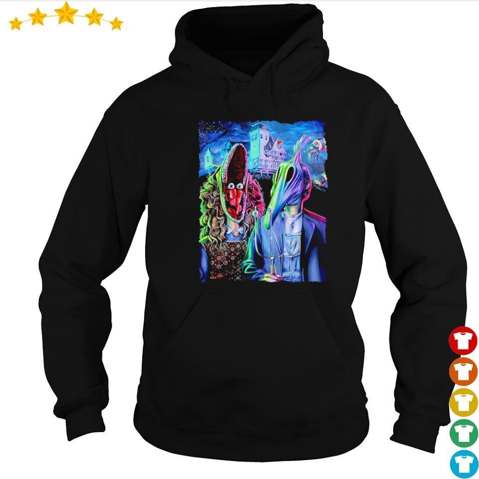 Scary Beetlejuice gothic happy Halloween s hoodie