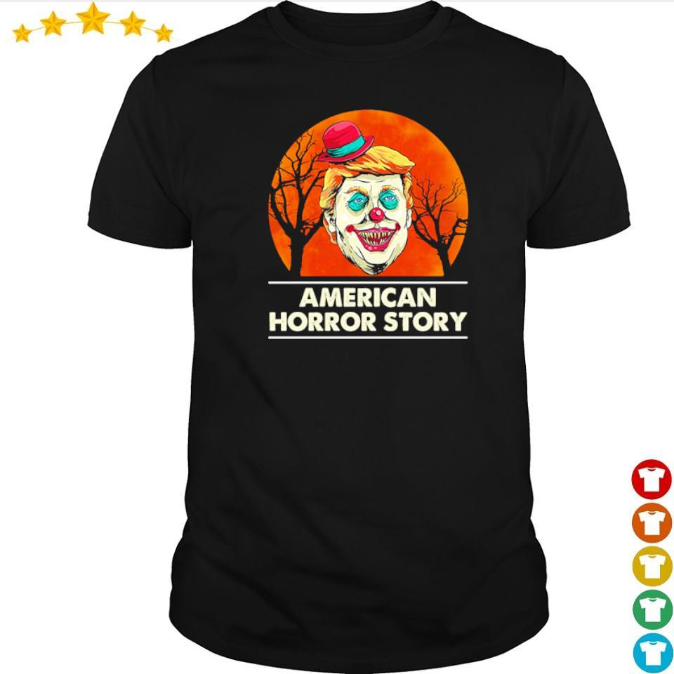 Scary Donald Trump American horror story shirt