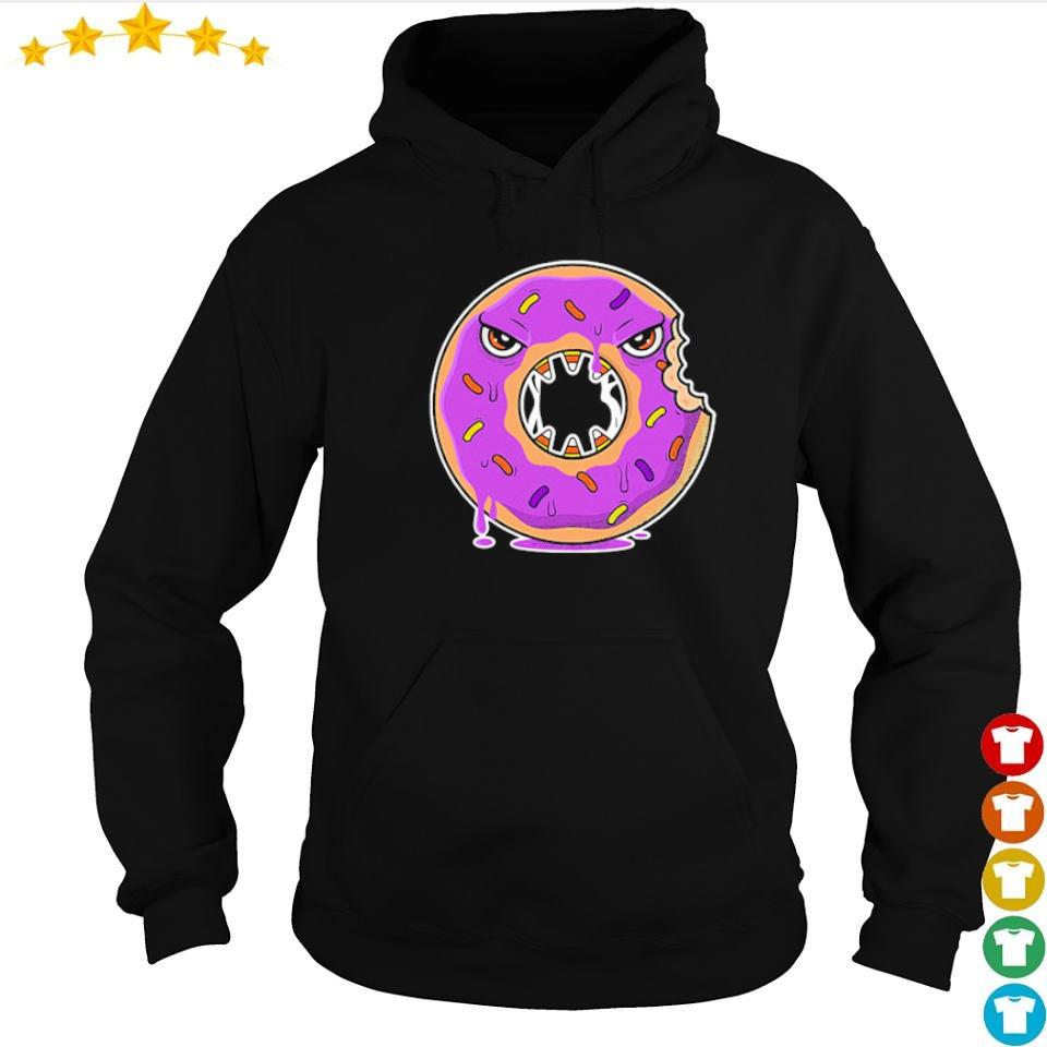 Scary donut costume happy Halloween s hoodie