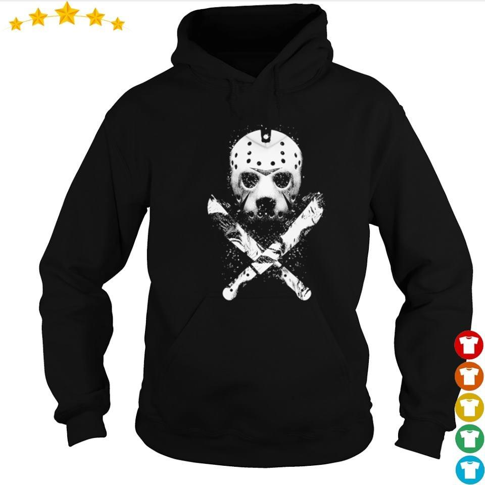 Scary Jason Voorhees mask happy Halloween s hoodie